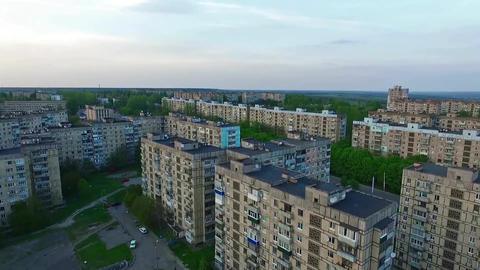 Ukraine, Krivoy Rog, District Damansiy, Fly Filmmaterial