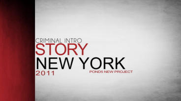 Criminal Intro projects After Effects Templates