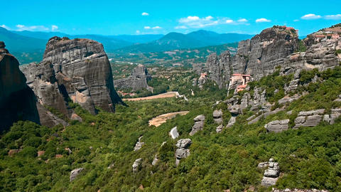 Meteora, Greece Footage