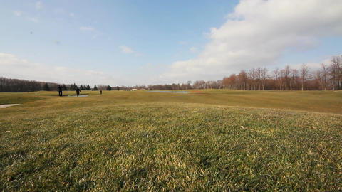 Mezhiğirje Golf Course Footage