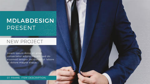 Corporate Startup Promo After Effects Template