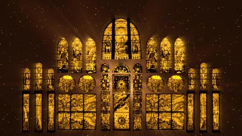 Mosaic Windows Motion Background VJ 2 Animation