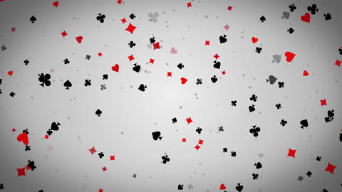 Abstract Flying Playing card Elements Seamlessly Loopable Background Animation.  影片素材