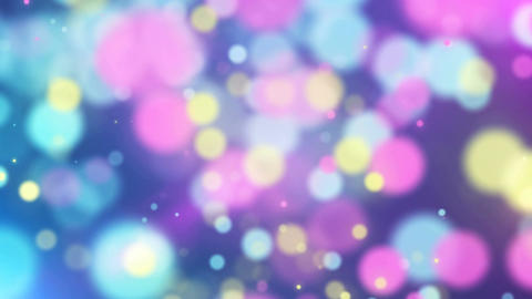 Colorful bokeh background Animation
