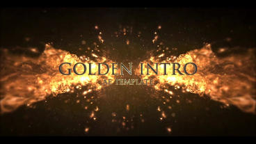 GOLDEN INTRO After Effects Template