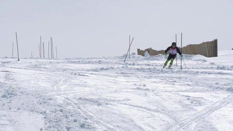 Michael Braun during the Ski National Championships Footage