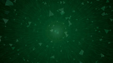 Green abstract motion background - 003 Live Action