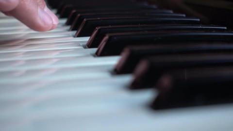 Playing Piano Keybords Background GIF