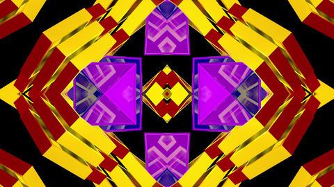 Colourful Box Geometry 04 Animation