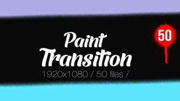 Paint Transition Pack After Effects Templates