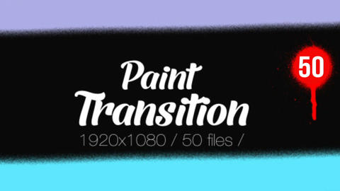 Paint Transition Pack After Effects Template