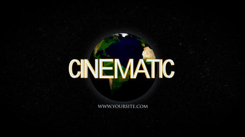 Earth Cinematic After Effects Template