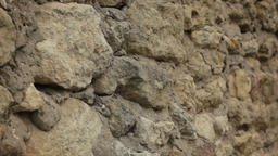 Close up of castle wall Filmmaterial