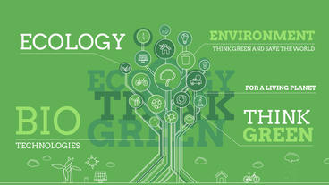 Ecology Infographics After Effects Templates