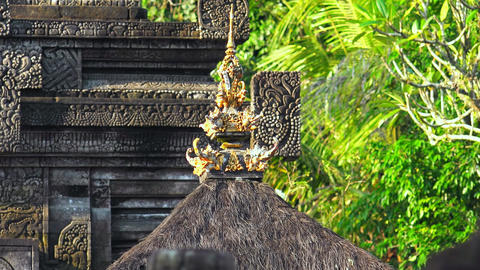 Hindu sanctuary Gunung Kawi Temple Complex. Bali, Indonesia Footage