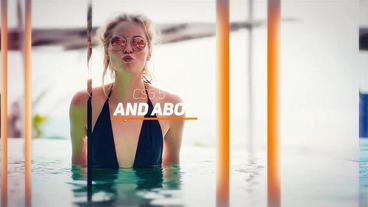 Summer Slide After Effects Template