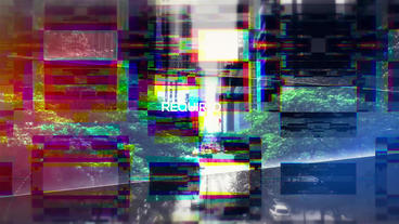 Stylish Glitch Opener After Effects Template