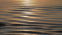 Ripples in early morning light on the Irrawaddy,Irrawaddy,Burma Footage