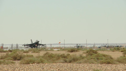 Jet fighter aircraft Stock Video Footage