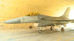 F-16 jet fighter aircraft Stock Video Footage