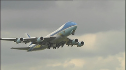 Air Force One Stock Video Footage