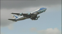 Air Force One Footage