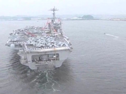Aircraft Carrier USS George Washington Footage