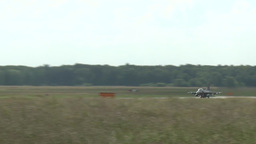 F-16 fighting falcons jet fighters Taking Off Stock Video Footage