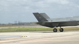 F-35 Lightning II fighter jet Stock Video Footage