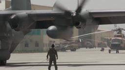 First Ever All Afghan Air Crew C-130 Hercules Flight Footage