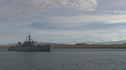 Royal Canadian Navy conducts Mediterranean Mooring Footage