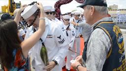 USS North Carolina Homecoming Footage