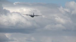C-130 Hercules from Australia Participates in Red Flag 14-2 Footage