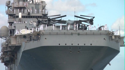 USS Peleliu Arrives at Pearl Harbor Footage