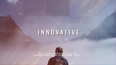 Motivational Presentation After Effects Template