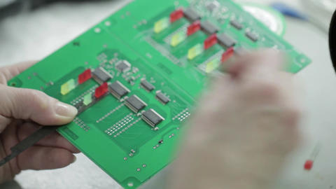 Manufacture of Motherboard Soldering