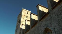 Europe Spain Balearic Ibiza Eivissa city 141 Dalt Vila cathedral Footage