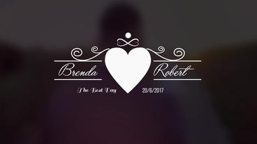 Wedding Titles V1 After Effects Projekt