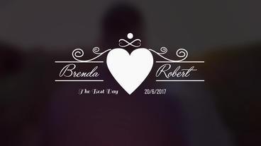 Wedding Titles V1 Plantilla de After Effects