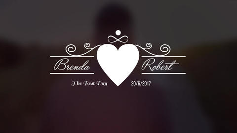 Wedding Titles V1 After Effects Template