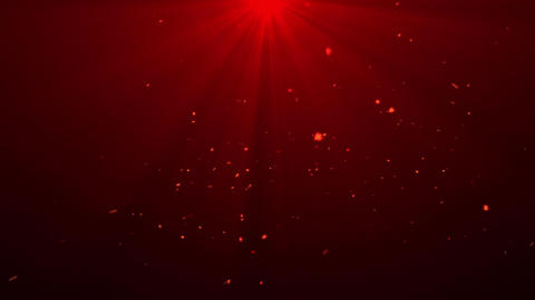 Snowflake particles with some light effects Seamless Loop Motion Background Animation