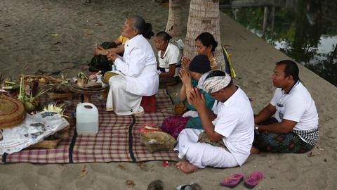 Beach Praying 2, Bali