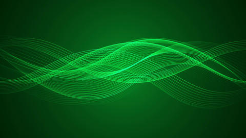 Abstract Looped Background | Wavy Lines | Ultra HD 0