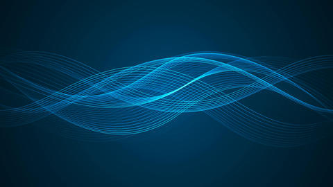 Abstract Looped Background | Wavy Lines | Ultra HD 1