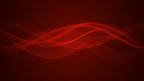Abstract Looped Background | Wavy Lines | Ultra HD 2