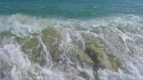 Sea Waves Consideration Footage