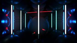 Neon Room P Animation