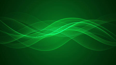 Abstract Looped Background | Wavy Lines | Full HD 0