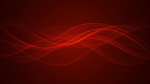 Abstract Looped Background | Wavy Lines | Full HD 1