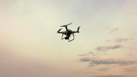 Drone floating in the air Footage